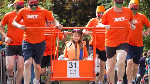 All set for 50th Bed Race